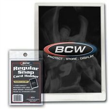 5 BCW Regular Snap Card Holders