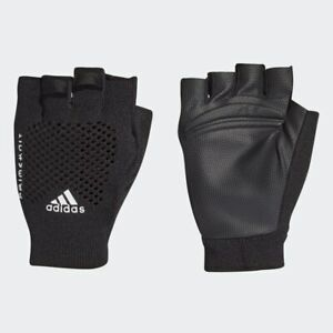 adidas PrimeKnit Training Gloves Unisex Size XS Black RRP £35 Brand New FT9664