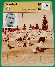FOOTBALL FIRST DIVISION ENGLAND NAT LOFTHOUSE BOLTON WANDERERS WM 54 URUGUAY