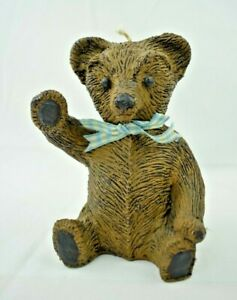 Vintage - The Wax Workers - Buster B. Bear Decorative Figurine Candle (1984)
