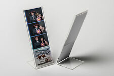 """Photo Booth Frame 2x6 acrylic picture frame 1 dozen 2"""" x 6"""" L style frames"""