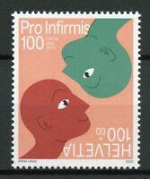 Switzerland Medical Stamps 2020 MNH Pro Infirmis Disabilities Health 1v Set