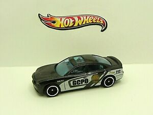 2020 Hot Wheels DC Batman GHP54 '11 Dodge Charger R/T Gotham Police LOOSE NEW
