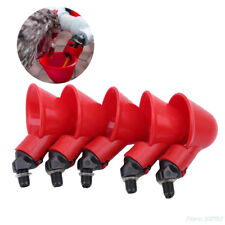 5Pcs Poultry Water Drinking Cups- Chicken Hen - Automatic Drinker HZ