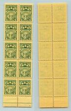 Latvia 🇱🇻 1931 SC 155 MNH block of 10, folded. rtb3022
