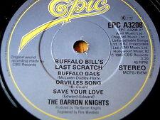 "Los Caballeros Barron-Buffalo Bill's Last Cero Vinilo De 7"""