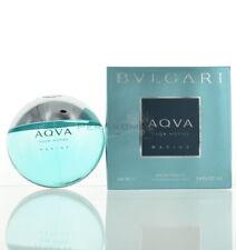 Aqva Pour Homme Marine By Bvlgari Eau De Toilette 3.4 Oz 100 Ml Spray For Men