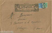 Enveloppe Michelin 1926 Automobilia Automobile vieux papiers caoutchouc tampon