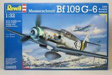 1/32 REVELL 04665 BF-109 G-6 Plane Kit NEW Sealed Bags FREE SHIP