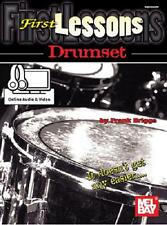 FIRST LESSONS BEGINNER DRUMSET DRUMS DRUM BOOK