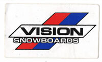 Vtg Vision Street Wear Sticker Decal Skate Skateboard Snowboards 80's