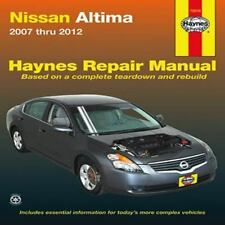 2007 2008 2009 2010 2011 2012 Nissan Altima Haynes Repair Manual 0506