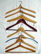 DDR Kleiderbügel Fasson Bügel Holz Vintage 8 Stück
