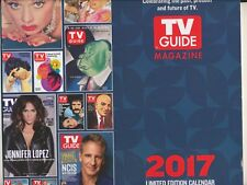 2017 TV GUIDE MAGAZINE 2017 LIMITED EDITION WALL CALENDAR CLASSIC COVERS NEW!!
