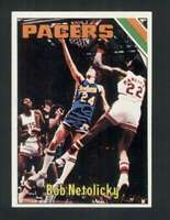 1975-76 Topps #314 Bob Netolicky NM/NM+ Pacers 119612