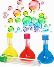 Magic Rainbow Bubbles Boy Girl Gift Birthday Party Bag Christmas Stocking Filler