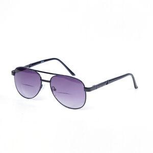Getönt Bifokal Lesebrille Sonnenbrille Jahrgang Leser Metall Leser + 1,0 ~ 3,5