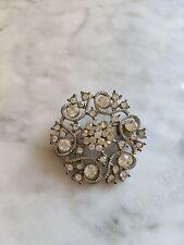 - was £50 Vintage crystal brooch