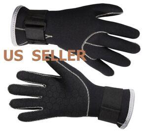 3mm Neoprene Adult Size Wetsuit Gloves Kayak Diving Swimming Surfing Gloves