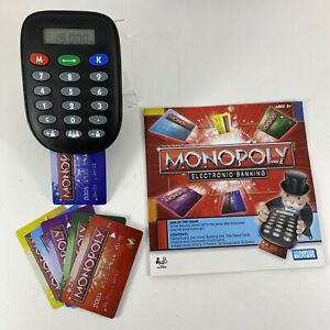 MONOPOLY Electronic Banking Replacement Electronic Banking Unit & Cards & Manual
