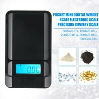 Mini Pocket Electronic Digital LCD Scale for weight 0.01g-500g Jewellery  K