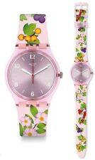 Swatch Merry Berry Watch GP150 Analogue Silicone Multicolour