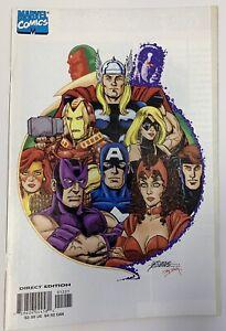 (1999) AVENGERS #12 George Perez Variant Cover! RARE!