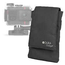 Black Portable Nylon Smartphone Case for Garmin VIRB Ultra 30 Action Camera