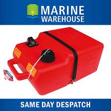 Outboard Fuel Tank 25L W/ Gauge Petrol Portable Boat Marine 25 Litre 202900