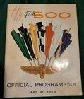 Vintage+The+47th+500+Indianapolis+Motor+Speedway+1963+Official+Program