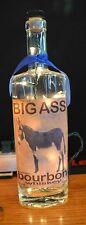 Big Ass Bourbon Whiskey  Lighted  Bottle  B2