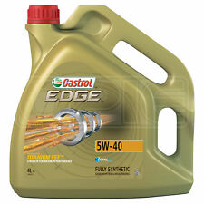 Castrol EDGE TITANIUM 5W-40 FST Synthetic Engine Oil 5W40 4 Litres 4L