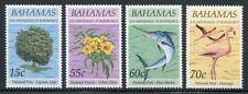 Bahamas 1993 Nationalsymbole Flamingo Fisch Pflanze Baum 813-816 Postfrisch MNH