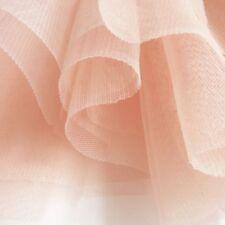 Tessuti e stoffe rosa in tulle per hobby creativi, lunghezza/quantità al metro