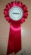 Red vainqueur Rosette Dog show cheval animal enfant