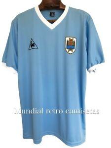 Uruguay mundial 1986 Francescoli jersey camiseta maglia (retro)