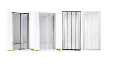 Tür Fliegengitter Insektenschutz Lamellenvorhang bis 100 x 220cm Fliegen Schutz