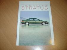 CATALOGUE Chrysler Stratus de 1995