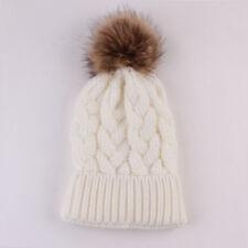 Women Child Kids Baby Hats Knitting Keep Warm Hat Family Style