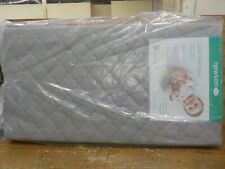 Baby Crib Airbed Mattress Moonlight Grey 100% Breathable Hypoallergenic Washable