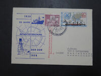 Germany DDR 1979 JAHRE 20 Antarctic Cover  - Z9559