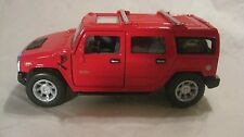 2008 Hummer H2 SUV Pick Up In A Red 140 Scale Diecast From Kinsmart    New dc815