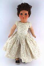 Alte Puppe SF50 Massepuppe Glieder 50 cm old doll Hersteller: M Mädchen Kleid