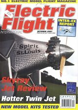 ELECTRIC FLIGHT MAGAZINE 2001 OCT THE UGLY DUCKLING, DOUGLAS F4D SKYRAY, MIG 15
