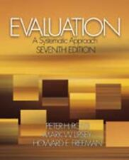 Evaluation: A Systematic Approach, 7th Edition
