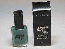 Avon Speed Dry+ Nail Enamel Teal Appeal 12 ml 0.4 fl oz polish mani pedi;