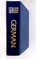Collins German English Deutsch Englisch Dictionary 1991 edition used hardcover