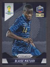 PANINI Prizm Coppa del Mondo 2014 BRASILE-Base # 80 BLAISE MATUIDI-FRANCIA