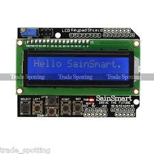 SainSmart 1602LCD Keypad Shield Blue Backlight for Arduino LCD Duemilanove Robot