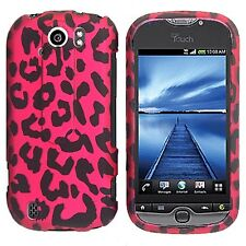 Hot Pink Leopard Case Cover T-Mobile myTouch 4G Slide